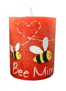 Lumanare Bee Mine 9 cm |Lumanaresele.ro