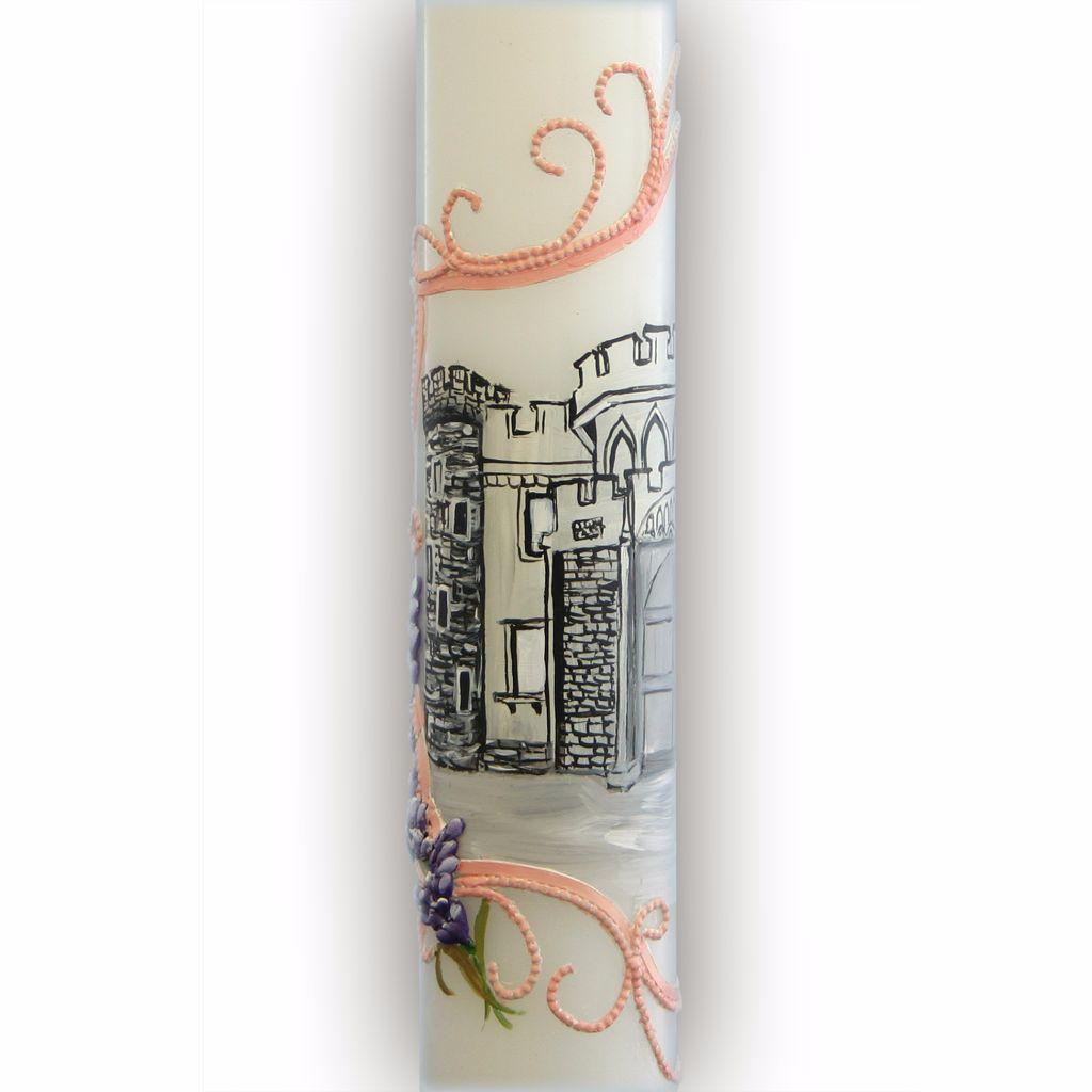 lumanari de cununie personalizate cu castel
